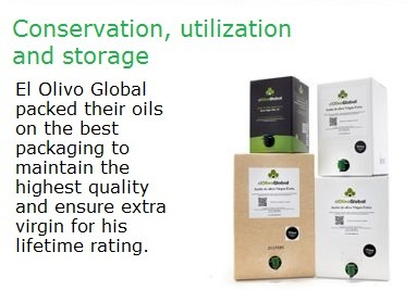 Extra virgin olive oil Bag in Box - Conservation, utilization and storage